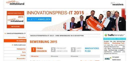 Noch bis zum 15. Februar können sich IT-Unternehmen für den Innovationspreis-IT bewerben
