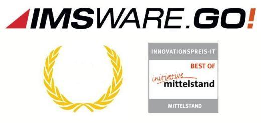 Prämiert: IMSWARE.GO! ist in die Bestenliste des Innovationspreis-IT 2015 aufgenommen worden