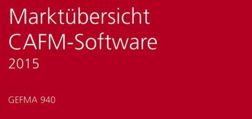 Marktübersicht CAFM-Software 2015