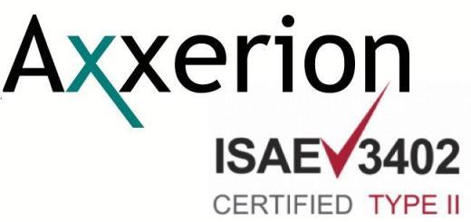 Die CAFM-Software Axxerion ist erneut nach ISAE 3402 zertifiziert