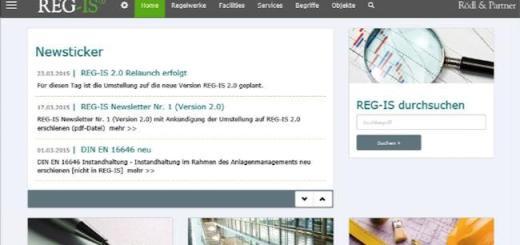 Update: Das Regelwerks-Informationssystem präsentiert sich als REG-IS 2.0 übersichtlich und attraktiv