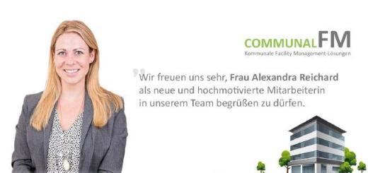 Alexandra Reichard erweitert das Team von communalFM