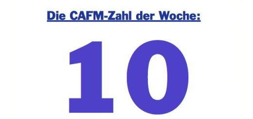 Die CAFM-Zahl der Woche ist die 10, denn in 10 Abschnitte unterteilt der CAFM-Ring die neue, überarbeitete Fassung seines Ratgebers zur CAFM-Einführung