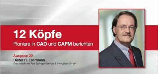 """Wie Dieter H. Laarmann die Immobilien von Axel Springer im Griff behält, ist Thema der Ausgabe 9 der pit-cup Reihe """"12 Köpfe. Pioniere in CAD und CAFM berichten"""""""