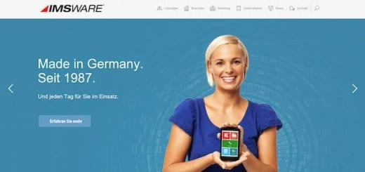 Luftig, responsiv, informativ und dazu auch noch sicher: die neue Website von IMSWARE