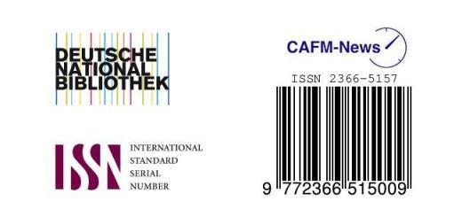 Medial aufgewertet: Ab sofort haben die CAFM-News eine eigene ISSN