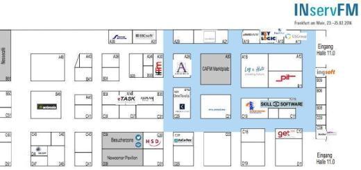 Auf der INservFM 2016 finden sich wieder zahlreiche CAFM-Software Hersteller rund um den CAFM-Marktplatz - und noch einige weitere Software-Hersteller