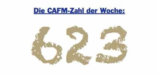 Die CAFM-Zahl der Woche ist die 623 - für die geglückten Eichhörnchen-Attacken auf das Stromnetz