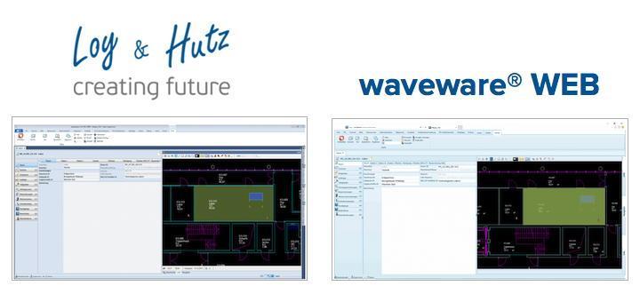 Loy&Hutz: Web-Client für wave Facilities verfügbar