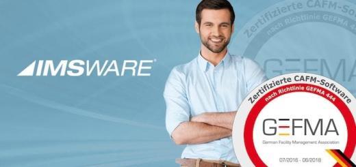 IMSWARE und IMSWARE.GO! sind bereits für die novellierte GEFMA 444 zertifiziert