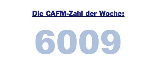 Die CAFM-Zahl der Woche ist die 6009 - für die Richtlinien-Reihe 6009 des VDI zum Thema FM