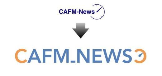 Das Logo der CAFM-News hat ein modernes und frisches Design bekommen – und der Tacho ist geblieben