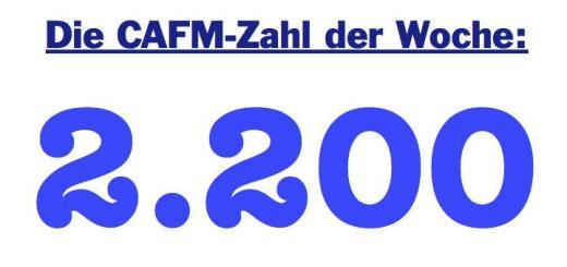 Die CAFM-Zahl der Woche ist 2200 - für die Zahl der Liegenschaften, die von der BIG in Wien für den Staat Österreich verwaltet werden
