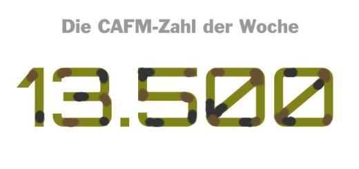 Die CAFM-Zahl der Woche ist die 13.500 – die Zahl der Mitarbeiter, die die Bundeswehr zur Cyberabwehr rekrutieren will