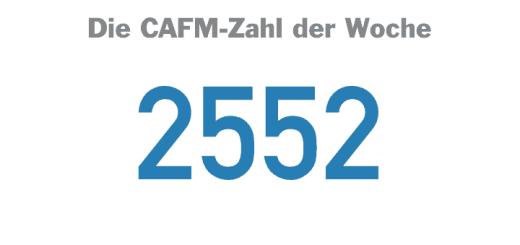 Die CAFM-Zahl der Woche ist die 2552 - die Ziffer der geplanten VDI-Richtlinienreihe zum Themenfeld BIM