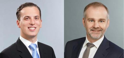 Lünendonk & Hossenfelder GmbH – die Umfirmierung des Marktforschungsunternehmens Lünendonk spiegelt den Generationswechsel zu Jonas Lünendonk (li.) und Jörg Hossenfelder