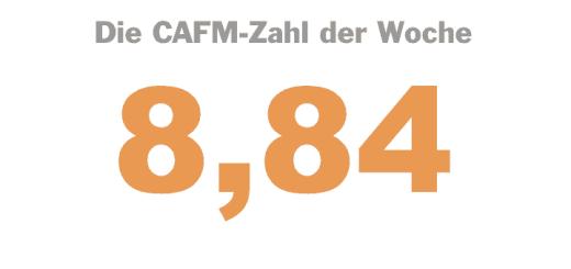Die CAFM-Zahl der Woche ist die 8,84 – auf diesen Betrag in Euro steigt der Mindestlohn
