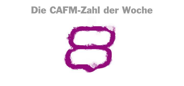 Die CAFM-Zahl der Woche ist dieses Mal die 8, weil in acht von zehn Hotelzimmern multiresistente Keime hausen – angeblich.