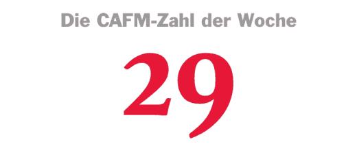 Die CAFM-Zahl der Woche ist die 29, denn zu 29 Prozent sind Architekten für Mehrkosten am Bau verantwortlich, meinen laut einer Umfrage die Installateure.