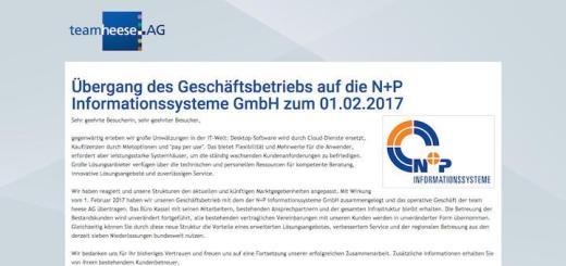 N+P hat den Autodesk-Partner Team Heese aus Kassel übernommen