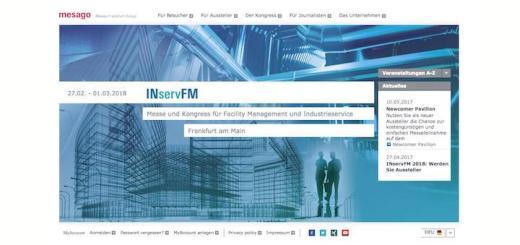Die INservFM 2018 meldet erste Buchungen – und mehr von diesen als zur gleichen Zeit im Vorjahr.