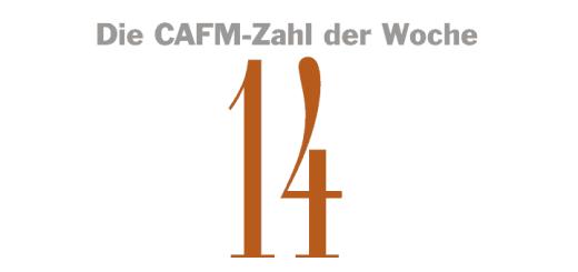 Die CAFM-Zahl der Woche ist die 14 – für die 14 Meter, die jeder mit einem Hubwagen an Höhe gewinnen kann