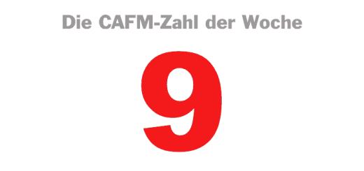Die CAFM-Zahl der Woche ist die egozentrischste Zahl der Welt – die 9