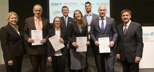 Auch 2018 werden auf der INservFM wieder die GEFMA-Förderpreise verliehen – Foto: Uta Moser