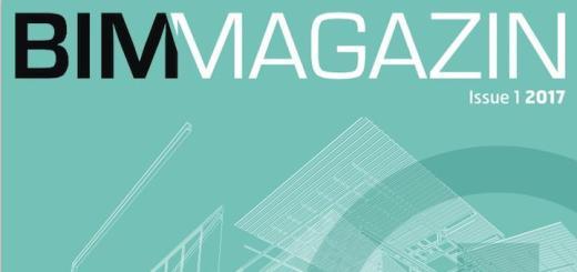 Das neue BIM Magazin erscheint erstmalig zur BIM World Munich 2017