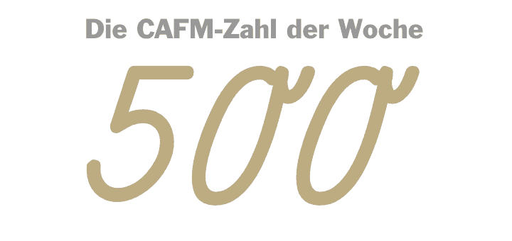 Die CAFM-Zahl der Woche ist die 500 – weil sich mit dem Jahrestag der Reformation auch der Jahrestag der allgemein verständlichen deutschen Hochsprache jährt