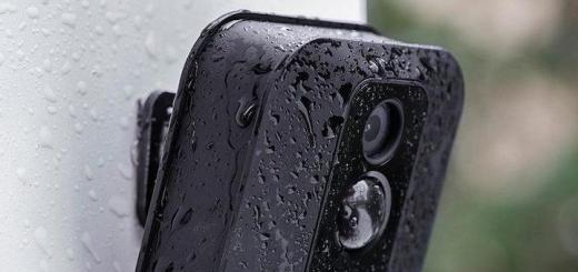 Trotzt Wind und (Regen-)Wetter: Die Blink XT Überwachungskamera ist für den Außeneinsatz entwickelt