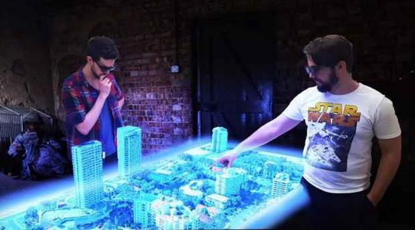 3-D für alle: Der Tisch von Euclideon wird rund 40.000 Euro kosten
