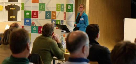 Gabriele Schwarte von Danielzik Baumanagement erläutert auf dem IMSWARE Anwendertag auch, wie sich CAFM-Belange in BIM-Projekten sinnvoll abbilden und flankieren lassen