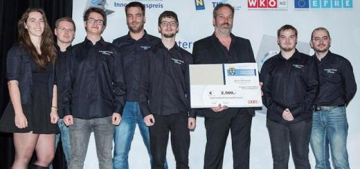 Das Ingenieur Studio Hollhaus aus St. Pölten hat den Sonderpreis Wirtschaft 4.0 des Innovationspreis Niederösterreich gewonnen