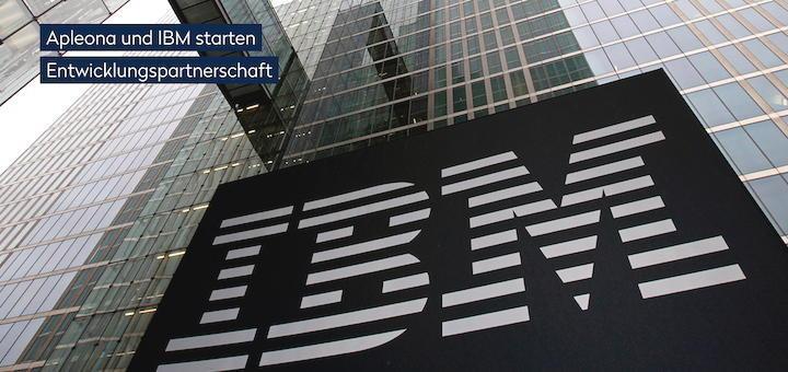 Gebäude-Dienstleister Apleona hat mit IBM eine Partnerschaft für Software-Entwicklung gestartet