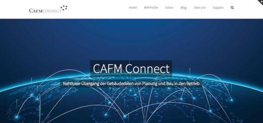 eigene website für cafm connect