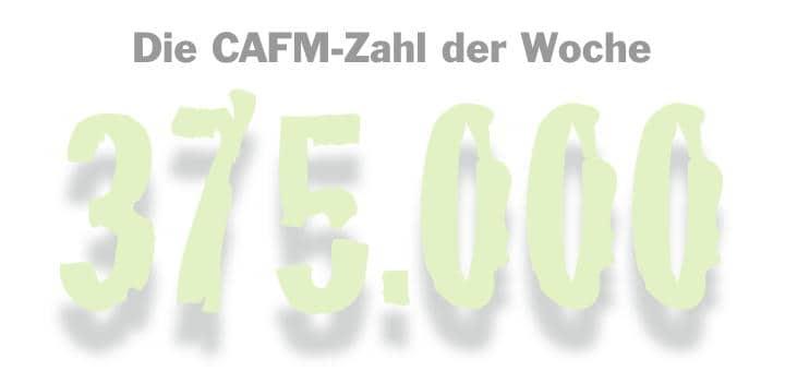 Die CAFM-Zahl der Woche ist die 375.000 – so viele Apps werden pro Minute für Android und Apple iOS weltweit herunter geladen
