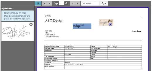 Manuell signieren und stempeln kann man jetzt in Axxerion, sagt InCaTec solutions