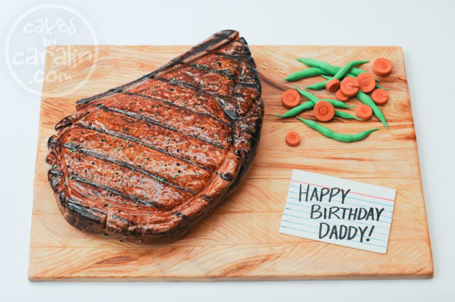 Ribeye Steak Cake