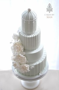 birdcage.wedding.cake