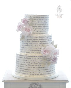 Book wedding cake
