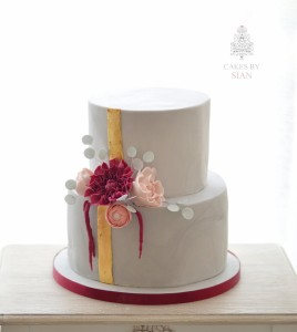 Concrete Effect wedding cake