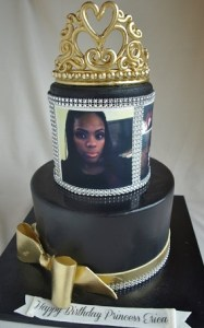 Photo cake Princess Tiara