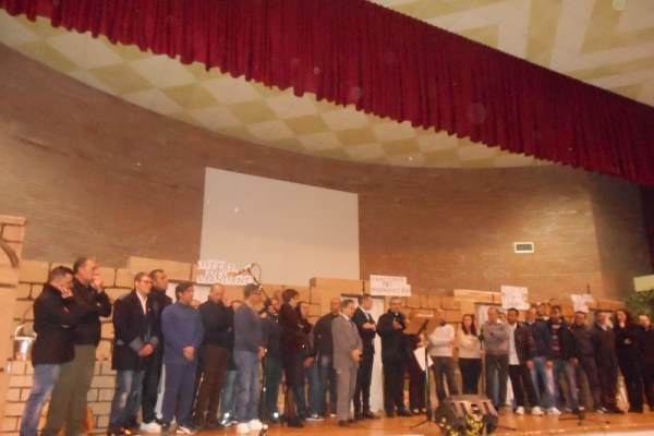CROSIA manifestazione in carcere. Sul palco anche gli ospiti