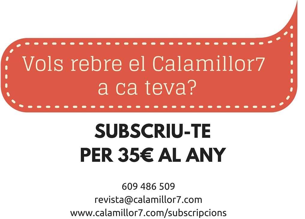 Suscriu-te al CalaMillor7