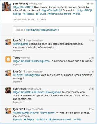 igor tweet