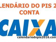 PIS 2016 conta CAIXA
