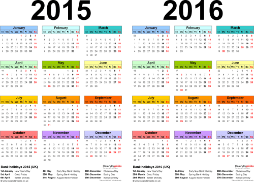 January 2016 Calendar With Federal Holidays | Calendar Template 2016