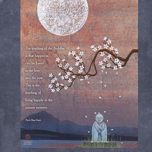 thich nhat hanh wall calendar 2013