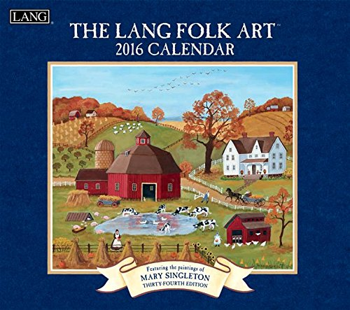 Lang Folk Art Calendar : Lisa blowers calendar and planner  unique